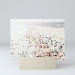 California Beach Print  Mini Art Print