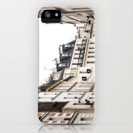 Parisian Street in the Marais iPhone Case