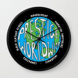 Prestige Worldwide Enterprise, The First Word In Entertainment, Step Brothers Original Design for Wa Wall Clock