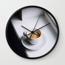 But First, Coffee VI Wall Clock