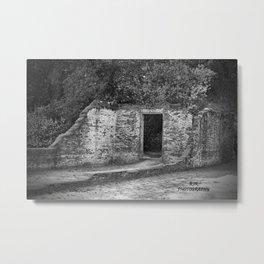 Shasta Ruins Metal Print