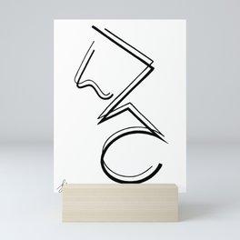 Three Dimensional II Mini Art Print