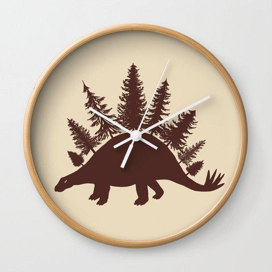 Stegoforest  Wall Clock