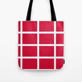 abstraction from the flag of denmark Tote Bag