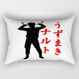 hero naruto uzumaki Rectangular Pillow