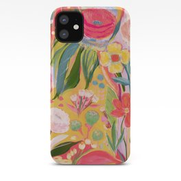 Cake flowers iPhone Case