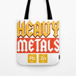 Metal Festival Science Uni Geology Gift Tote Bag