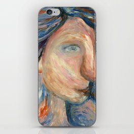 Ocean child iPhone Skin