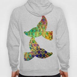 Scales Edged in Gold Hoody