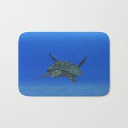 Peaceful Sea Turtle Bath Mat