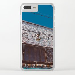 San Francisco XII Clear iPhone Case