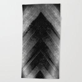 Black Magic Beach Towel
