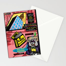 Bird of Steel Comix - Page #3 of 8 (Society 6 POP-ART COLLECTION SERIES)  Stationery Cards