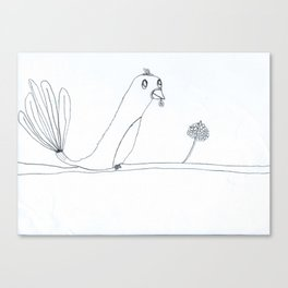 Oiseau Canvas Print