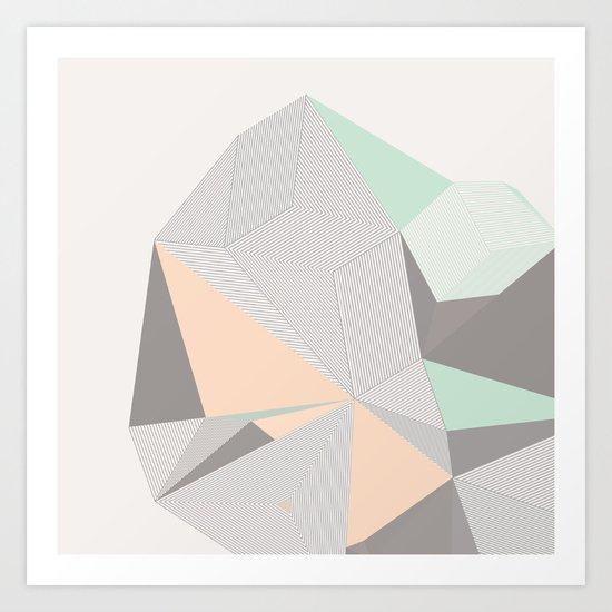 Origami II Art Print