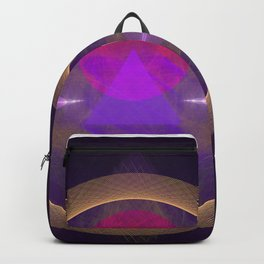Abstract Art - Circuitry Backpack