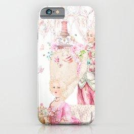 Marie Antoinette Rococo High Tea iPhone Case