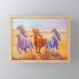 Free Spirits | Esprits Libres Framed Mini Art Print