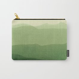 gradient landscape green Carry-All Pouch