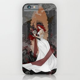 Queen of the Underworld iPhone Case