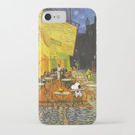 Snoopy meets Van Gogh iPhone Case