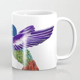 The Sunflower And The Hummingbird Coffee Mug