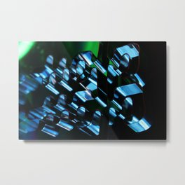 Abstraction in Darkness  Metal Print