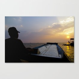 Sun Swept Canvas Print