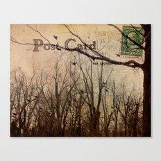 Address Unknown Canvas Print
