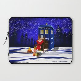 10th Doctor Relax before Christmas Laptop Sleeve