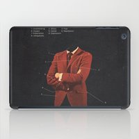 depression iPad Cases featuring Manhood by Frank Moth