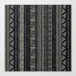Mud Cloth Stripe Canvas Print