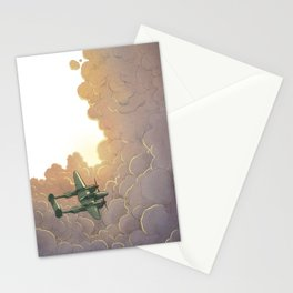 The Cassandra Star - In the clouds Stationery Cards