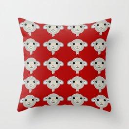 Basic Sheep - 1 Throw Pillow