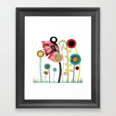 Wedding Day. There's nothing that I wouldn't do.  Framed Art Print