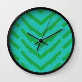 Tribal Pattern 2 Wall Clock
