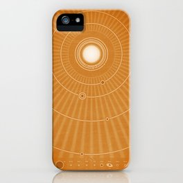 Solar System Hot iPhone Case