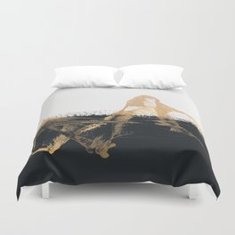 Abstract 64 Duvet Cover