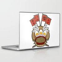 ramen Laptop & iPad Skins featuring Ramen Love by ColourMoiChic