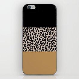 Leopard National Flag XII iPhone Skin