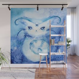 Serena Cat : Peace Wall Mural