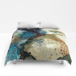 Winter Gold Comforters