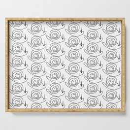 snails Serving Tray