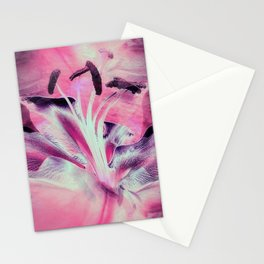 Pink Lily Fantasy Stationery Cards