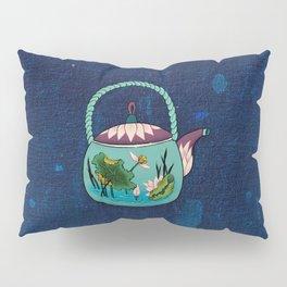 Minhwa: Mint Teapot (Korean traditional/folk art) Pillow Sham