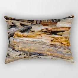Driven Driftwood Rectangular Pillow