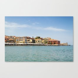 Venetian Port Canvas Print