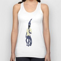 fallout Tank Tops featuring Fallout Squid by PhantomAmber