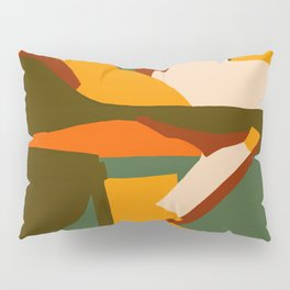 A New Way Of Seeing Abstract Landscape Pillow Sham