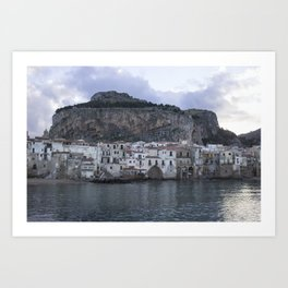 Cefalu's Shore Art Print
